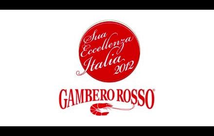 Logo Gambero Roso Eccellenza 2012